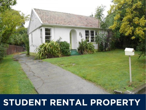 View profile: STUDENT ACCOMODATION - 3 BEDROOM HOUSE + 3 BEDROOM SLEEPOUT