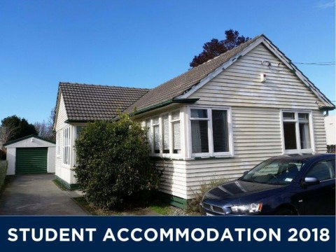 View profile: STUDENT ACCOMMODATION 2018 - 5 BEDROOMS, 3 BATHROOMS, HEATPUMP