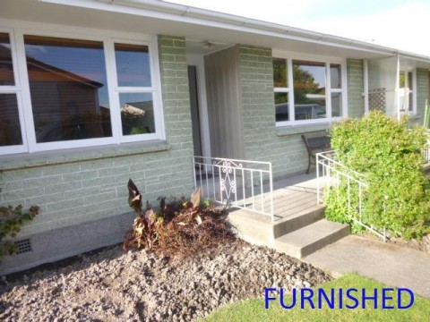View profile: SYDENHAM - 2 BEDROOM FULLY FURNISHED UNIT, HEATPUMP, SINGLE GARAGE