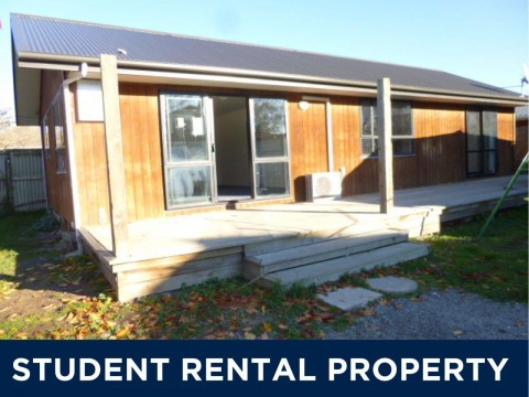 View profile: STUDENT ACCOMODATION - MODERN 3X BEDROOM HOME, HEATPUMP