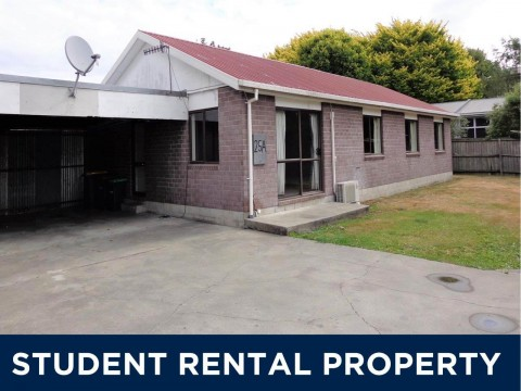View profile: STUDENT ACCOMMODATION 2019 - RICCARTON - 5x BEDROOMS, HEAT PUMP, GARDENER
