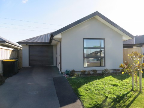 View profile: RANGIORA - 3 BEDROOMS - NEAR NEW PROPERTY