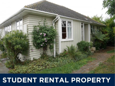 View profile: STUDENT ACCOMMODATION 2019 -5 BEDROOMS,2 BATHROOMS,HEATPUMP, INSULATED