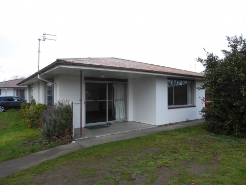 View profile: RANGIORA, 2 BEDROOM FRONT UNIT - EASY CARE