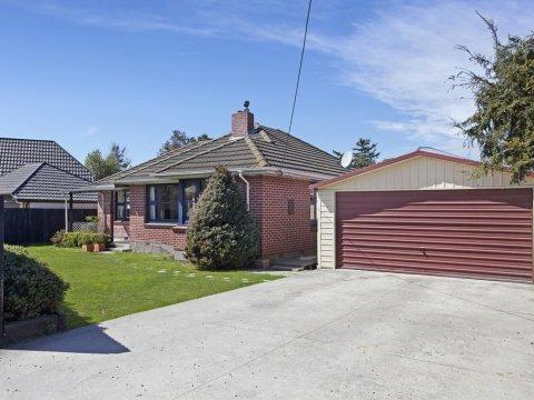 View profile: PAPANUI/BRYNDWR - 4 X BEDROOM HOUSE, HEATPUMP, DOUBLE GARAGE