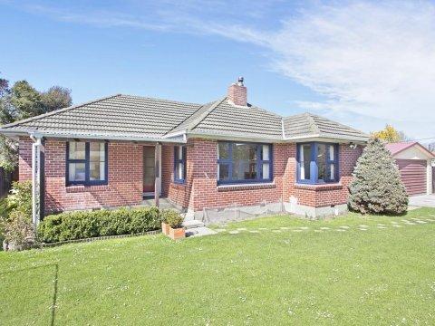 View profile: PAPANUI/BRYNDWR - 3/4 X BEDROOM HOUSE, HEATPUMP, DOUBLE GARAGE