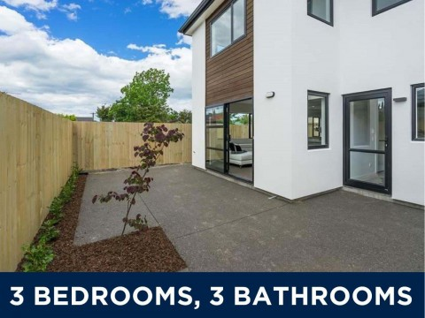 View profile: ST ALBANS - BRAND NEW 3 X BEDROOM, 3 X BATHROOM TOWNHOUSE